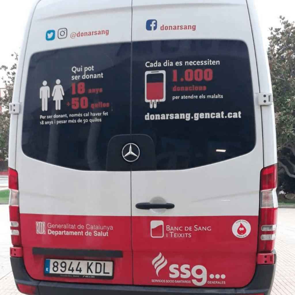 banco de sangre de barcelona