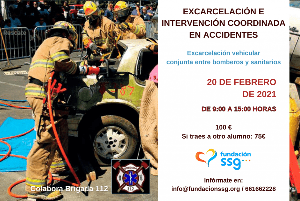 Excarcelación e intervención coordinada en accidentes